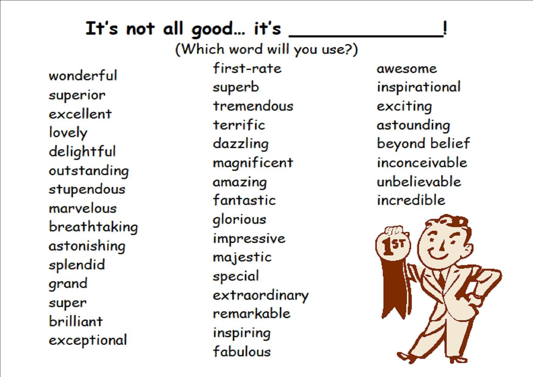 describing a wonderful person